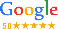 Google reviews with stars